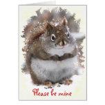 Sweet Squirrel Valentine