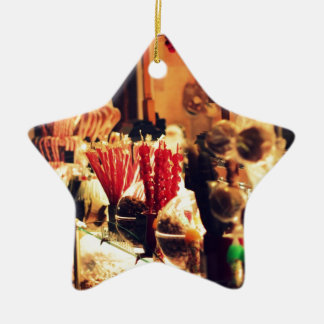 Sweet Stall Ceramic Star Decoration