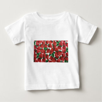 Sweet Strawberry Fabric Print Tshirts
