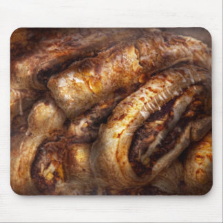 Sweet - Strudel - Almond Strudel Abstract Mouse Pad