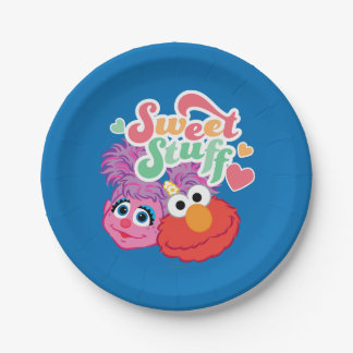 Sweet Stuff Character 7 Inch Paper Plate