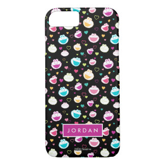 Sweet Stuff Heart Pattern | Add Your Name iPhone 8/7 Case