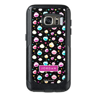 Sweet Stuff Heart Pattern | Add Your Name OtterBox Samsung Galaxy S7 Case