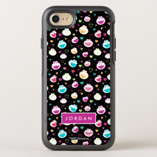 Sweet Stuff Heart Pattern   Add Your Name OtterBox Symmetry iPhone 7 Case