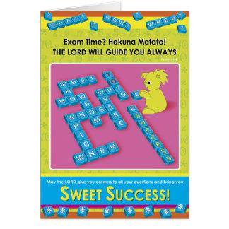 Sweet Success Card