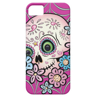 Sweet Sugar Skull Barely There iPhone 5 Case