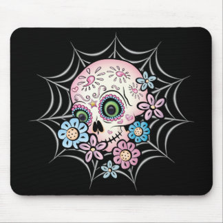 Sweet Sugar Skull Mouse Mat