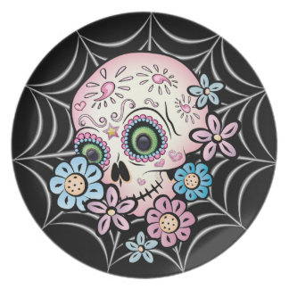 Sweet Sugar Skull Plate