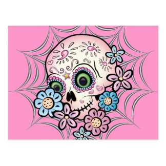 Sweet Sugar Skull Postcard