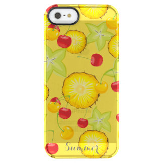 Sweet Summer Fruits Clear iPhone SE/5/5s Case