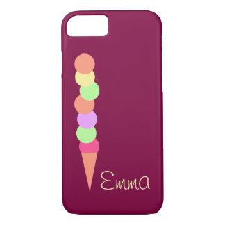 Sweet Summer Ice Cream iPhone 8/7 Case