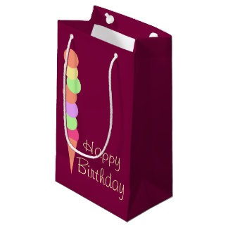 Sweet Summer Ice Cream Small Gift Bag