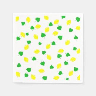 Sweet Summer Lemonade Disposable Serviettes