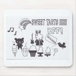 Sweet tarts BFF Mouse Pad