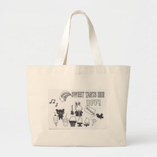 Sweet tarts BFF Tote Bags