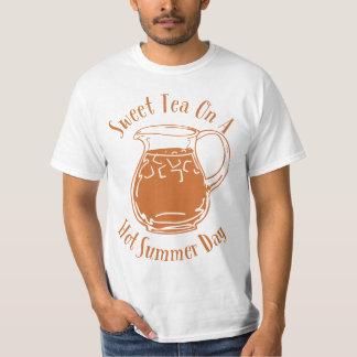 Sweet Tea On A Hot Summer Day Shirts