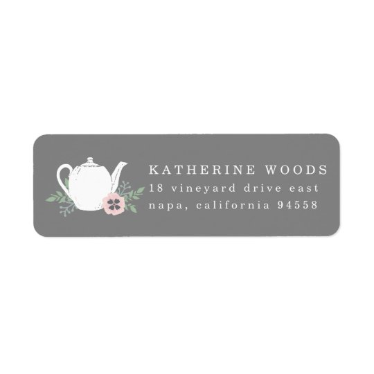 Sweet Tea Return Address Labels