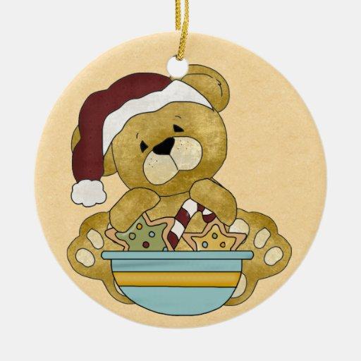 Sweet Teddy Bear Ornament