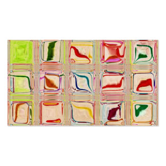 Sweet Tiles Glass Mosaic custom business card