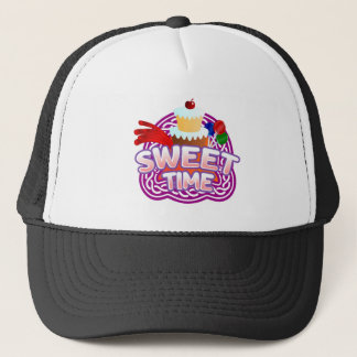 Sweet Time black Trucker Hat