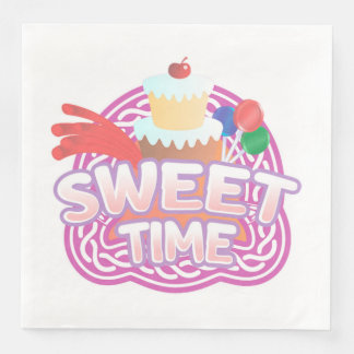 Sweet Time Paper Napkins