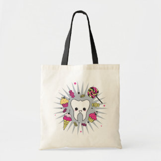 Sweet Tooth Tote Bags