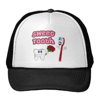 Sweet Tooth Cute Cartoon T-shirts For Women Cap