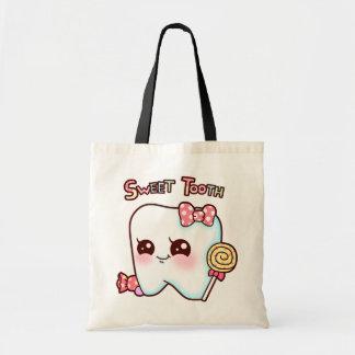 Sweet Tooth Tote Budget Tote Bag
