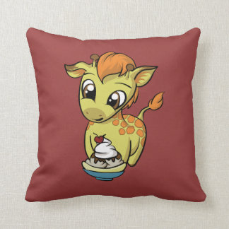 Sweet Treat! Giraffe Cushion