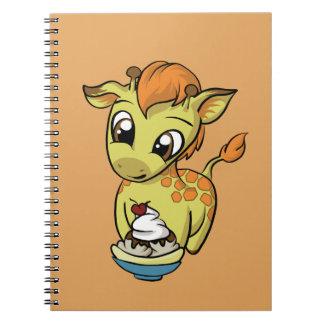 Sweet Treat! Giraffe Note Books