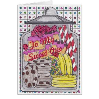 Sweet Treats 1 Birthday Card for Sweet One