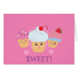 Sweet Treats - Cupcakes! Card