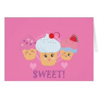 Sweet Treats - Cupcakes! Greeting Card