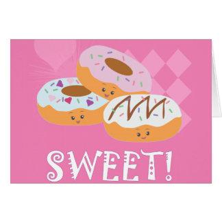 Sweet Treats - Donuts! Greeting Card