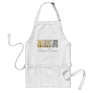 Sweet Treats in Shades of White Standard Apron