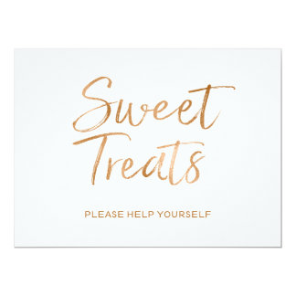"""""""Sweet Treats"""" Sign 