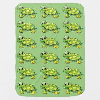 Sweet Turtle Baby Blanket
