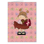 sweet valentine chocolates cutie greeting card