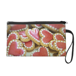 sweet valentine cookies in a tin biscuit box wristlet clutches