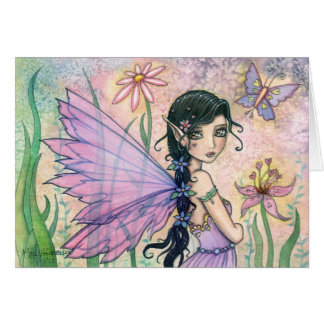 Sweet Valentine s Day Fairy Greeting Card