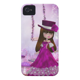 Sweet Victorian Fairy Blackberry Curve Case