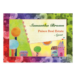 Sweet Village: Real Estate Business Cards