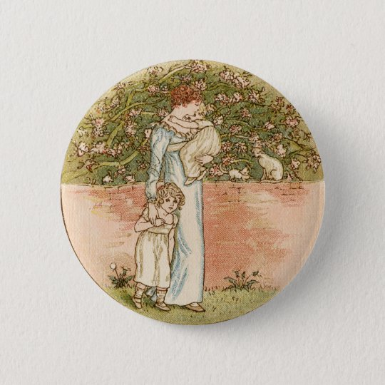 Sweet Vintage Mother's Day Gift 6 Cm Round Badge