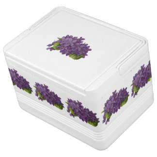 Sweet Violets Ice Chest Igloo Cooler