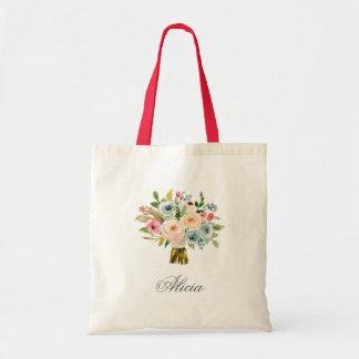 Sweet Watercolor Bouquet | Tote Bag