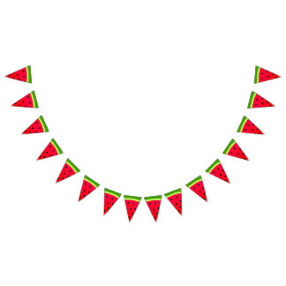 Sweet Watermelon Bunting