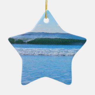 Sweet Wave Ceramic Star Decoration
