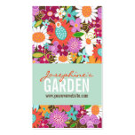 Sweet Whimsical Spring Flowers Colourful Garden