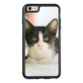 Sweet White And Black Kitten OtterBox iPhone 6/6s Plus Case