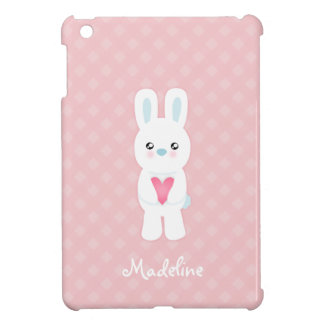 Sweet White Bunny Case For The iPad Mini